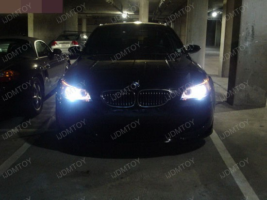 BMW - 530i - 6000K - HID - headlights - 4
